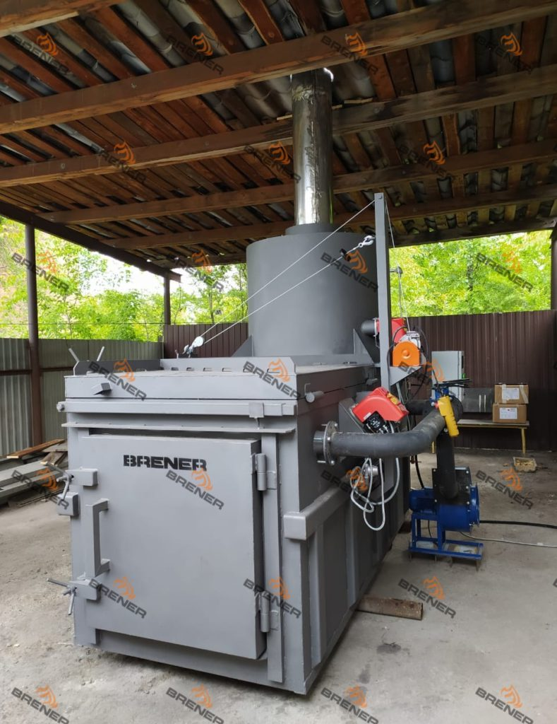 Incinerator for poultry